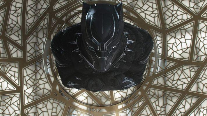 Escena de Black Panther