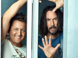 Alex Winter y Keanu Reeves en