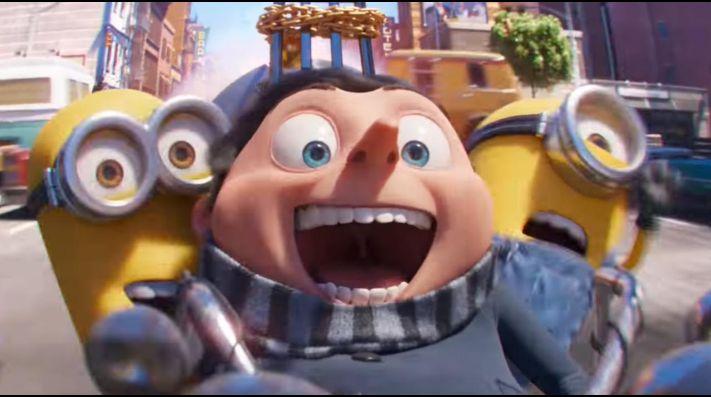 Primer trailer oficial de Minions: El Origen de Gru