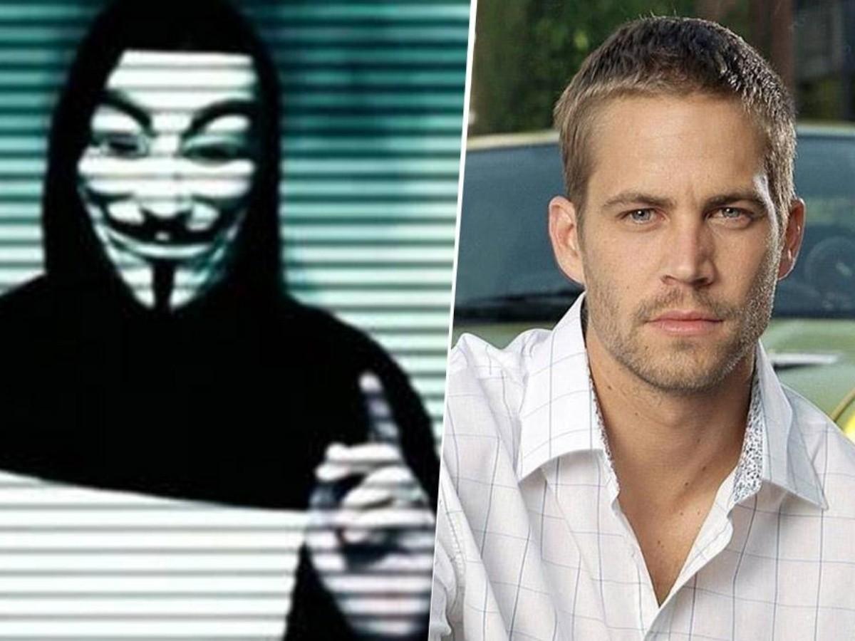 Anonymous paul walker