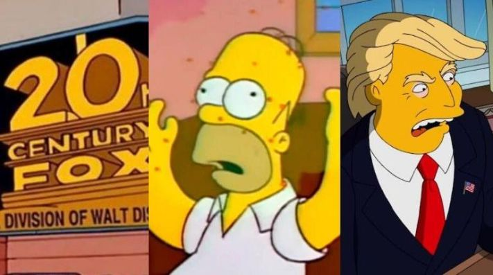 Top 10 predicciones de Los Simpson
