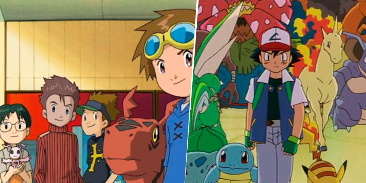¿Digimon plagió a Pokemon?