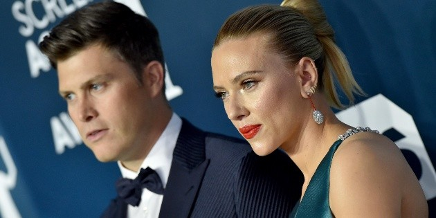Scarlett Johansson: la actriz se casó con Colin Jost en secreto y lo anuncó a través de una organización benéfica   Spoiler - Bolavip