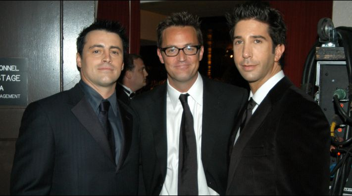 Matthew Perry, Matt Le Blanc y David Schwimmer