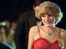 Emma Corrin en The Crown