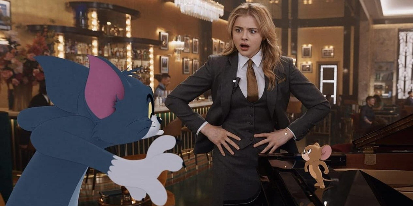 Chloe Grace Moretz en Tom y Jerry