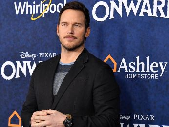 Chris Pratt en la premiere de Onward