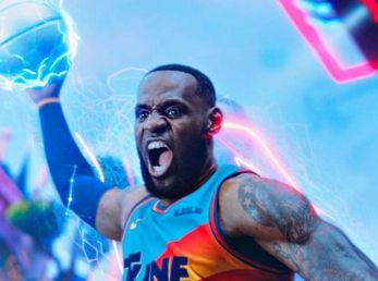 Lebron James es el protagonista de la secuela de Space Jam (Foto: Entertainment Weekly)