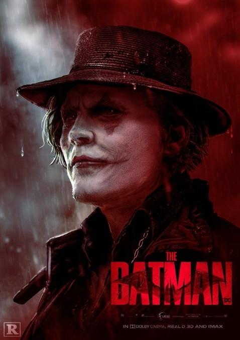 Johnny Depp como el Joker