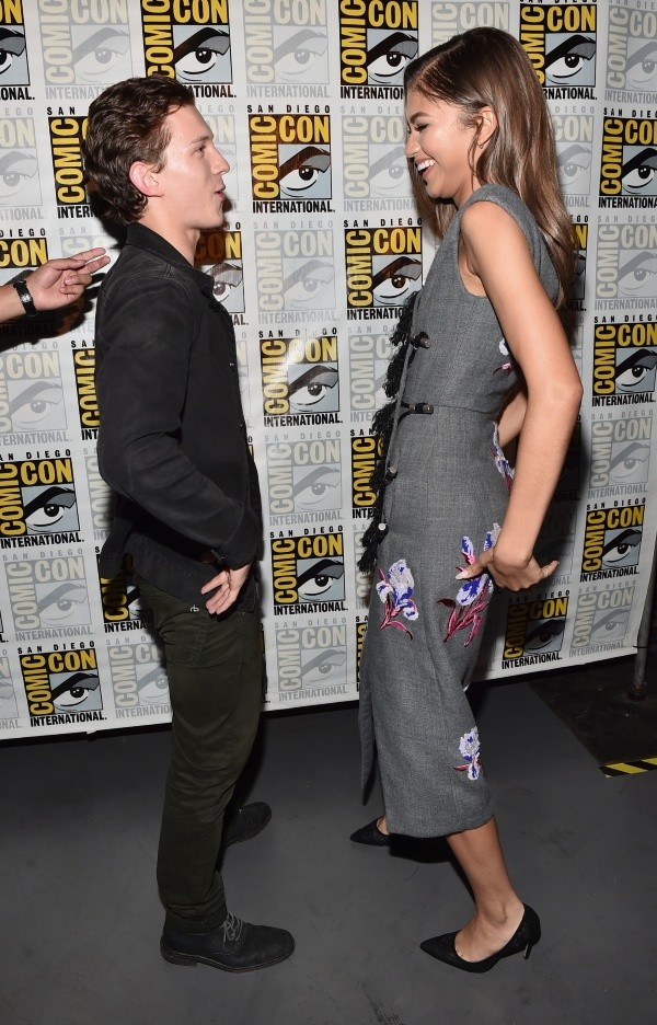 Tom Holland and Zendaya had a hard time meeting.  Photo: (Getty)