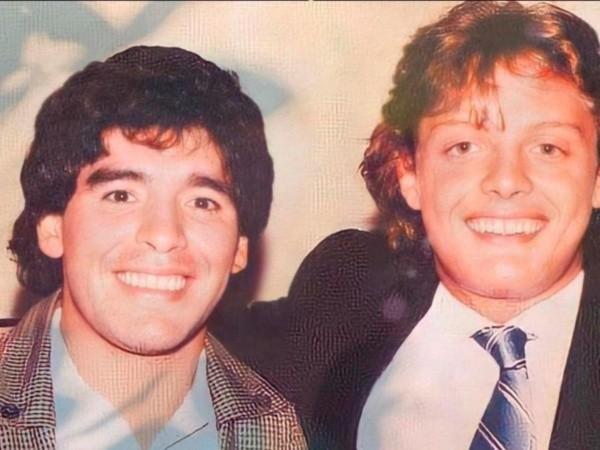 Se compararon Diego Maradona y Luis Miguel.