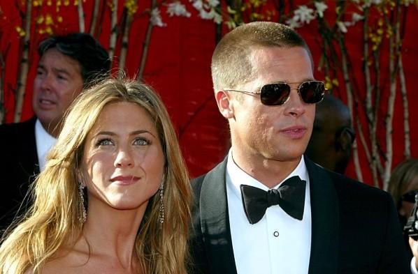 Jennifer Aniston and Brad Pitt. Photo: (Getty)