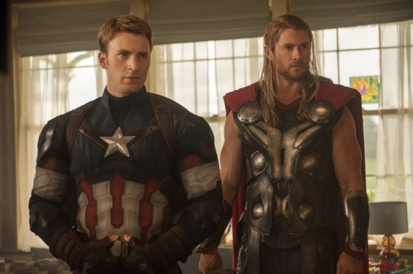 Captain America and Thor.  Photo: (IMDB)
