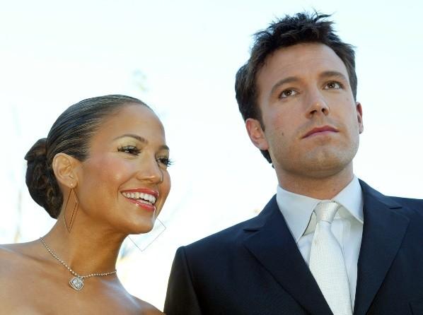 Jennifer López and Ben Affleck in 2003. Photo: (Getty)