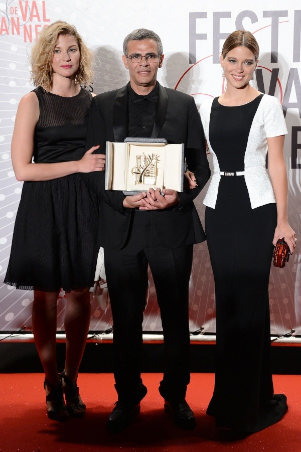 abdellatif kechiche blue is the warmest color the life of adele lea seydoux adele exarchopoulos