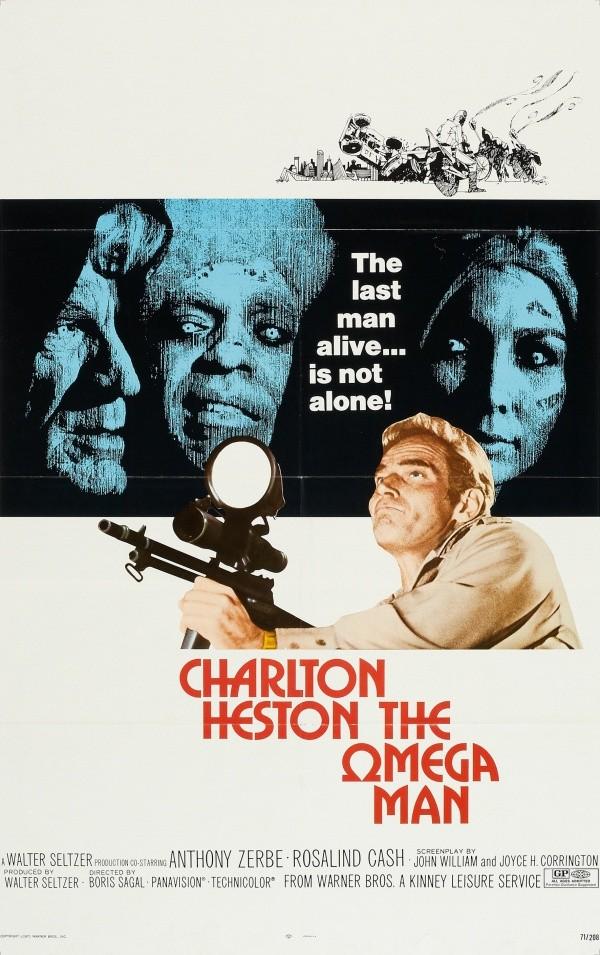 the omega man chalton heston
