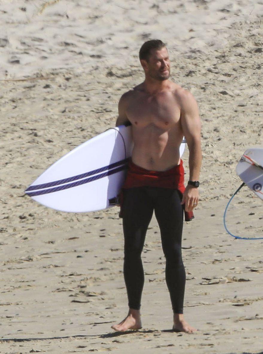 Chris Hemsworth. Foto: (QLD1)